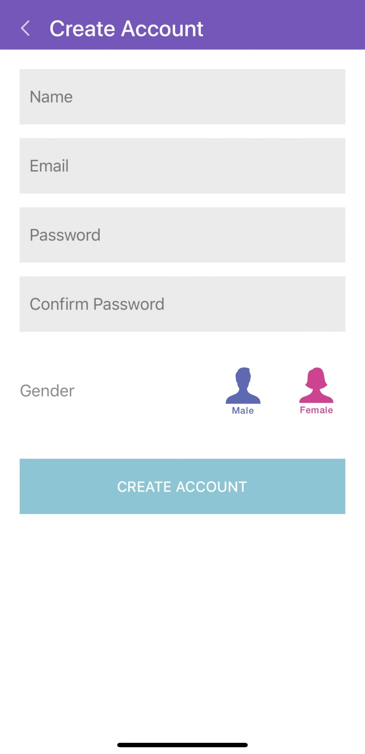 MyPsychic App account creation