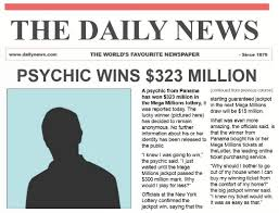 Can psychics predict lottery numbers?